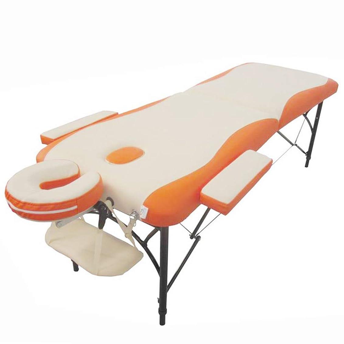 イヤホン船上長いです専門の折りたたみ美のベッド、調節可能な入れ墨のマッサージのテーブル/レイキ鉱泉の顔の処置
