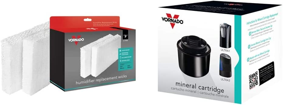 Vornado Nippon regular agency MD1-0002 55% OFF Replacement Humidifier MD Wick White 2-Pack