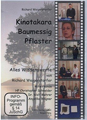 Kinotakara Baumessig-Pflaster. Alles Wissenswerte von Richard Weigerstorfer Mitwirkende: Dr. Wolf Mehrer (Naturwissenschaftler) Christopher Schneider (Heilpraktiker) Angelika Wagner (Anwenderin) [VHS]