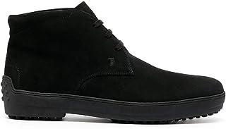 Tod's Mode De Luxe Homme XXM0HW00D80HSEB999 Noir Suède Bottines | Automne-Hiver 20