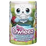 Owleez - 6046148 - Jouet enfant - Animal volant interactif - Blanc