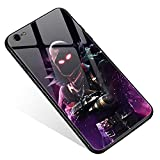iPhone 6s Plus Case,Tempered Glass iPhone 6 Plus Cases Raven Repeated war for Women Girls Boys, Pattern Design Shockproof Anti-Scratch Case for Apple iPhone 6/6s Plus