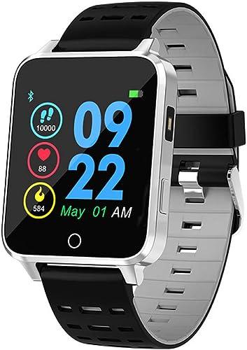IP68 bracelet imperméable à l'eau grand écran LED lumière dynamique rythme cardiaque sommeil surveillance montre bracelet intelligent