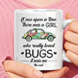 Once Upon A Time A Girl Who Loved Bugs Volkswagen Beetle Mug