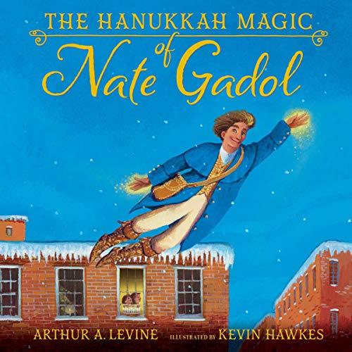 The Hanukkah Magic of Nate Gadol  By  cover art