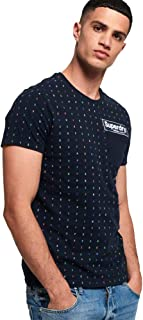 Men's Engineered All-Over Print Pocket T-Shirt
