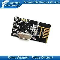 2個NRF24L01 NRF24L01 +ワイヤレスモジュール2.4Gワイヤレス通信モジュールアップグレードモジュールnew