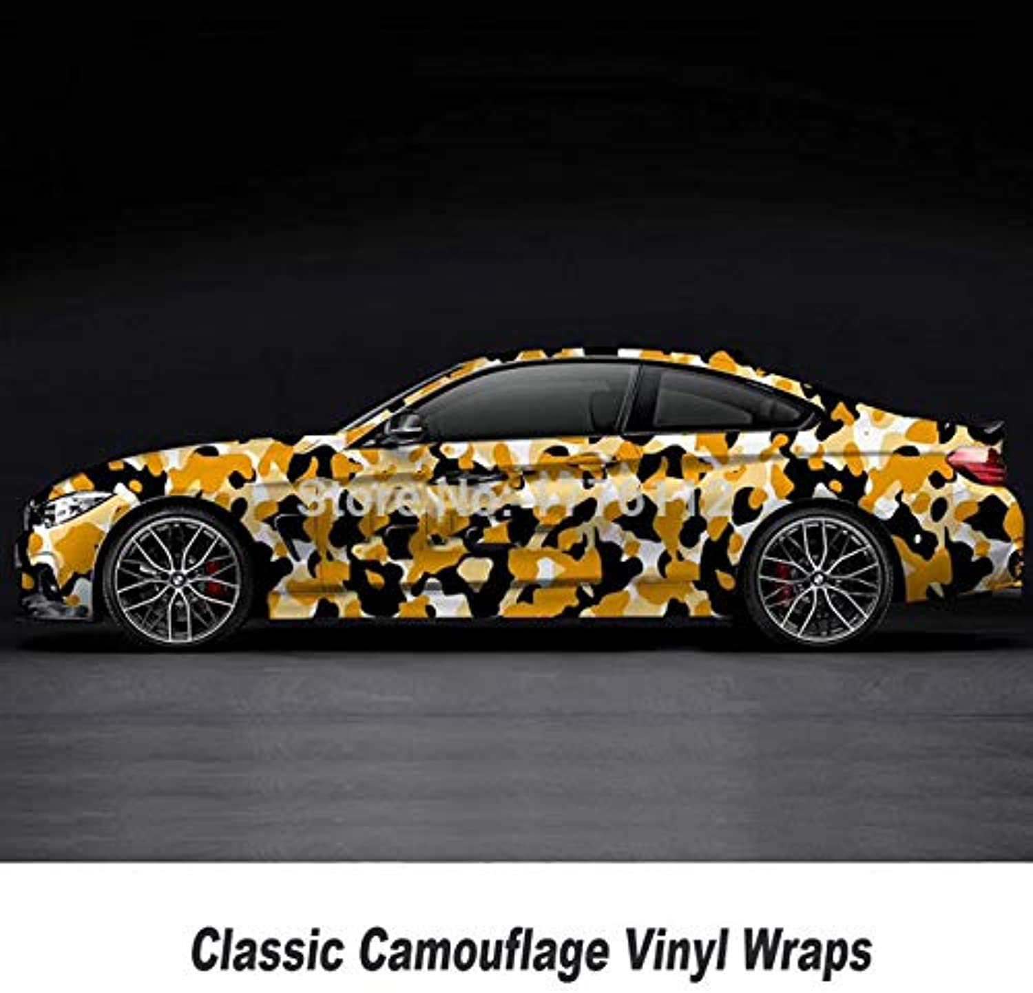 Factory Price car foil Wrapping Film with Air Free Graphics Size  1.52  5 10 15 20 25 30 M cam Vinyl Wraps  (color Name  7, Size  1.52m X 10m, Style  Matte)