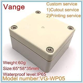 Davitu 1pcs/lot injection housing IP65 waterproof ABS plastic enclosures for electronics device 65 * 58 * 35mm