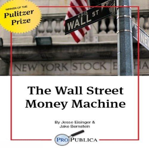 The Wall Street Money Machine audiobook cover art