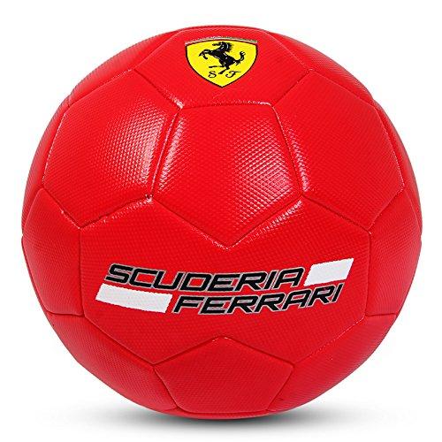Ferrari Ball Balón de Fútbol Colección Oficial Rojo Talla...