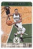 Giannis Antetokounmpo 2017 2018 Panini Hoops #9 Mint Milwaukee Bucks Basketball Card