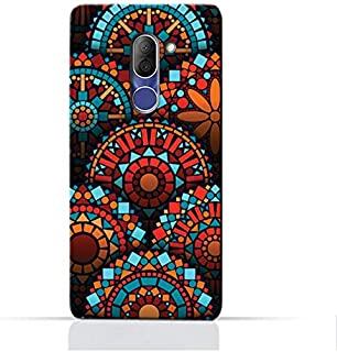 AMC Design Alcatel 3X 5058Y TPU Silicone Protective Case with Geometrical Mandalas Pattern
