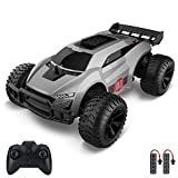 VRG RC Cars for Boys Age 8-12, 2.4GHz Remote Control Car 1/22 Scale Buggy 2WD High Speed RC Racing Car, 2 Rechargeable Batteries and 3 AAA Batteries, Toys for Boys, Xmas Gifts