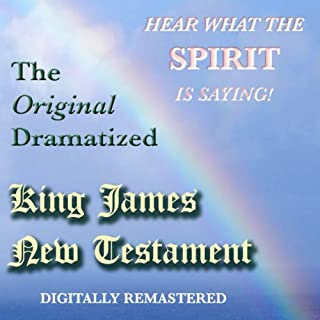 The Original Dramatized King James New Testament audiobook cover art