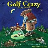 Golf Crazy by Gary Patterson 2021 Wall Calendar