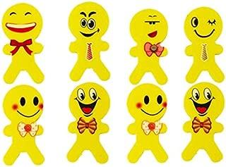 Lot Of 24 Assorted Emoji Funny Face Erasers (1 DZ Packs Of 2)