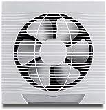 ZKZK Equipo de ventilación hidropónica Los extractores de Aire del Ventilador del habitáculo baño Humos de Escape Ventana de la Cocina casera de la Pared sólida de 12 Pulgadas