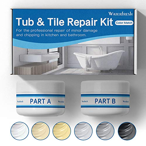 Buy Discount Tub, Tile and Shower Repair Kit (Color Match) Fiberglass Repair Kit -White/Almond/Black...