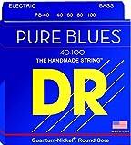 DR String PB-40 Pure Blues Set di corde per basso...