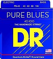 DRストリングPB-40ピュアブルースベースギターストリング