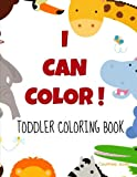Big And Simple Pictures - I Can Color Toddler's Coloring Book Review