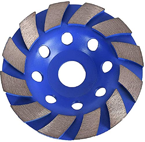 GoYonder 4 inch Diamond Cutting Wheel,Premium Wet/Dry Diamond Grinder Disc for Angle Grinder to Grind Concrete, Marble, Granite, Natural Stone, Rock, Cement and Ceramics