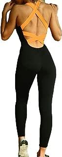 juqilu Abbigliamento Sportivo da Donna Donna Salopette da Yoga Danza Sport Fitness Tuta Tuta Aderente Tuta Confortevole Pantalone Sport Tuta