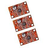 Acxico 3Pcs AD828 Stereo Dynamic Microphone Preamplifier Board Pickup Module DC 3.8V-15V MIC Preamp Module