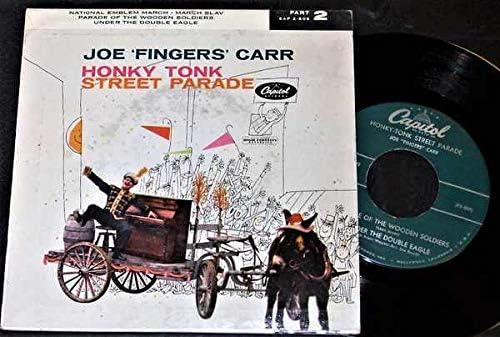Joe Max 63% OFF Fingers Carr - Honky Tonk Parade EP Part PS 45 W 2 Max 60% OFF Vinyl
