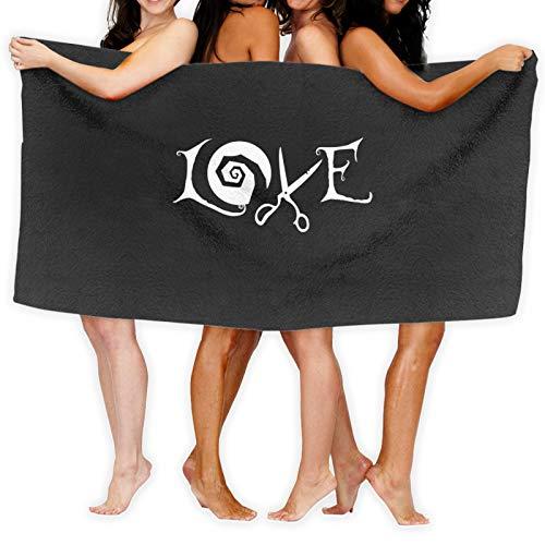 Toalla de baño Love Burton de secado rápido
