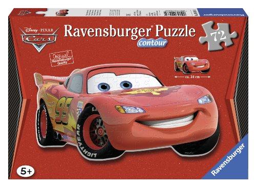 Ravensburger - 05582 - Puzzle contour Eclatant Mc Queen 72 Pièces
