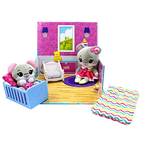 Tiny Tukkins Playset Assortment with Plush Stuffed Character, Mouse, Toy, Model:TT03011