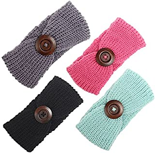 Baby Girl Knit Crochet Turban Warm Headbands