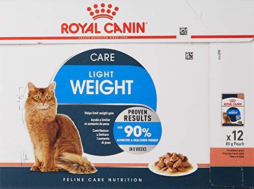 Royal Canin Comida para gatos Ultra Light, pack de 12 🔥