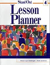 Stand Out Lesson Planner, Level 4
