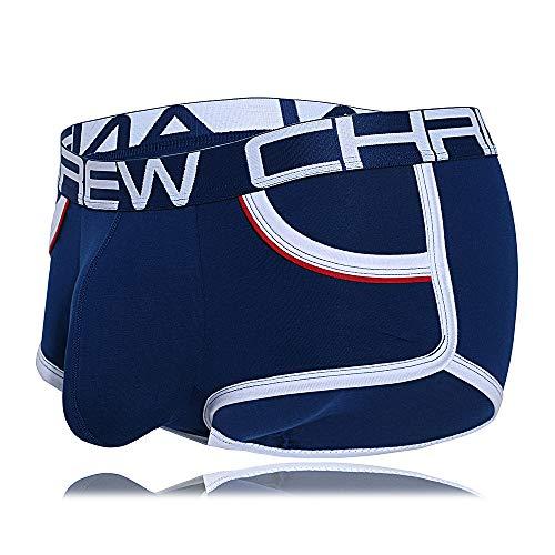 Andrew Christian Show-It Retro-Boxershorts - Blau - Medium