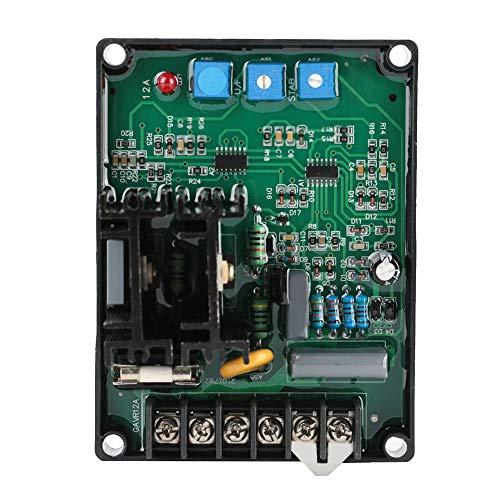 SANON Controlador de Regulador de Voltaje Automático para Las Piezas Del Grupo Electrógeno Generador Gavr-12A