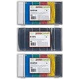 Arnocanali Kit guaine termorestringenti colorate 300 pezzi da 10 cm, multicolore