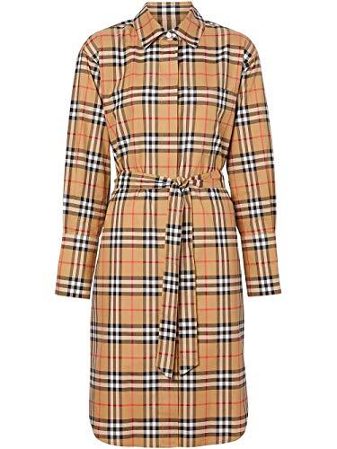 BURBERRY Luxury Fashion Damen 8013946 Beige Baumwolle Kleid | Frühling Sommer 20