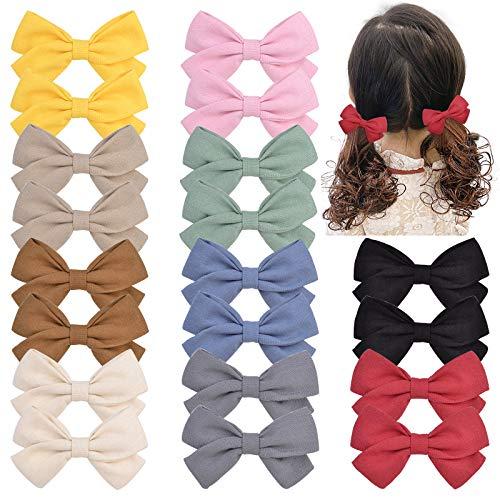 20 unidades en pares de lazos para el pelo para niñas pequeñas, niñas pequeñas, niños y niños