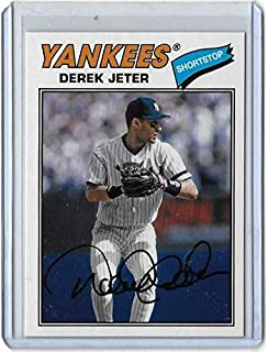 2018 Topps Archives SP Photo Variation #200 Derek Jeter