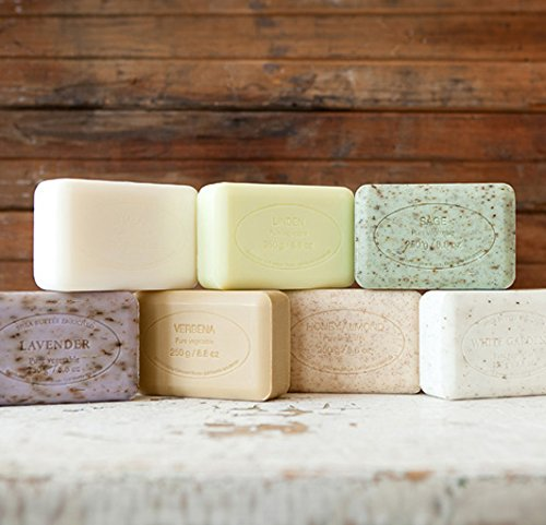 Pre' De Provence Artisanal French Soap Bar Enriched With Shea Butter, Rose Petal, 250 Gram