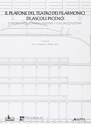 Il plafone del teatro dei filarmonici di Ascoli Piceno. Conoscenza, conservazione e valorizzazione (Architetture di città)
