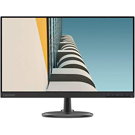 """Lenovo C24-25 - Monitor de 23.8"""" FullHD (1920x1080 pixeles, 16:9, 75Hz, 4ms, 1000:1, Puertos VGA + HDMI, 3 lados, sin bordes) Color Negro"""