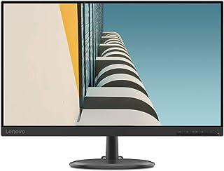 """Lenovo C24-25 - Monitor de 23.8"""" FullHD (1920x1080 pixeles, 16:9, 75Hz, 4ms, 1000:1, Puertos VGA + HDMI, 3 lados, sin bord..."""