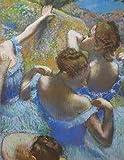 Degas Blue Ballerinas: Degas artwork blue ballerinas notebook. Large format 8.5x11' lined notebook. (Degas Notebooks, Band 2)