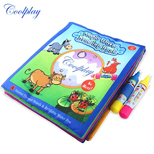 BlackPJenny Magic Design Bambini Kids Coloring Painting Libro Early Enlightenment Learning Disegno Acqua Drawing Book Doodle