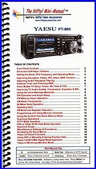 Yaesu FT-991 Mini-Manual by Nifty Accessories