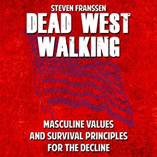 Dead West Walking audiobook cover art